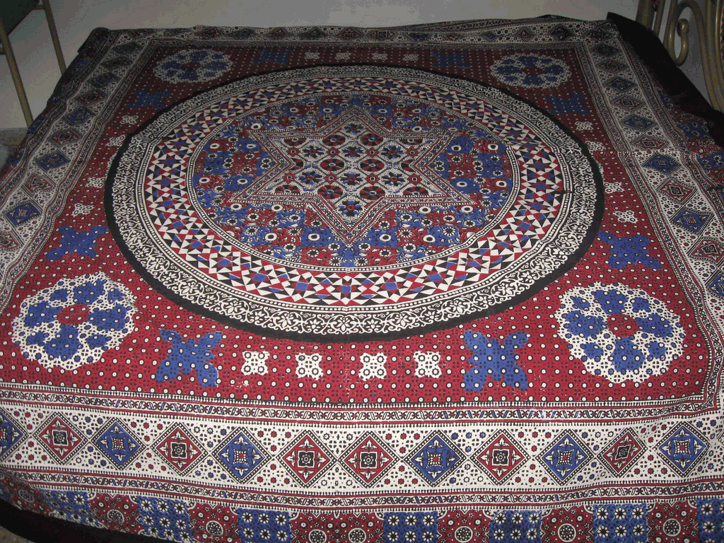 Where To Buy Bed Sheets Ajrak Style Bed Sheets | Buy Aplic Work Bed Sheets & New ...