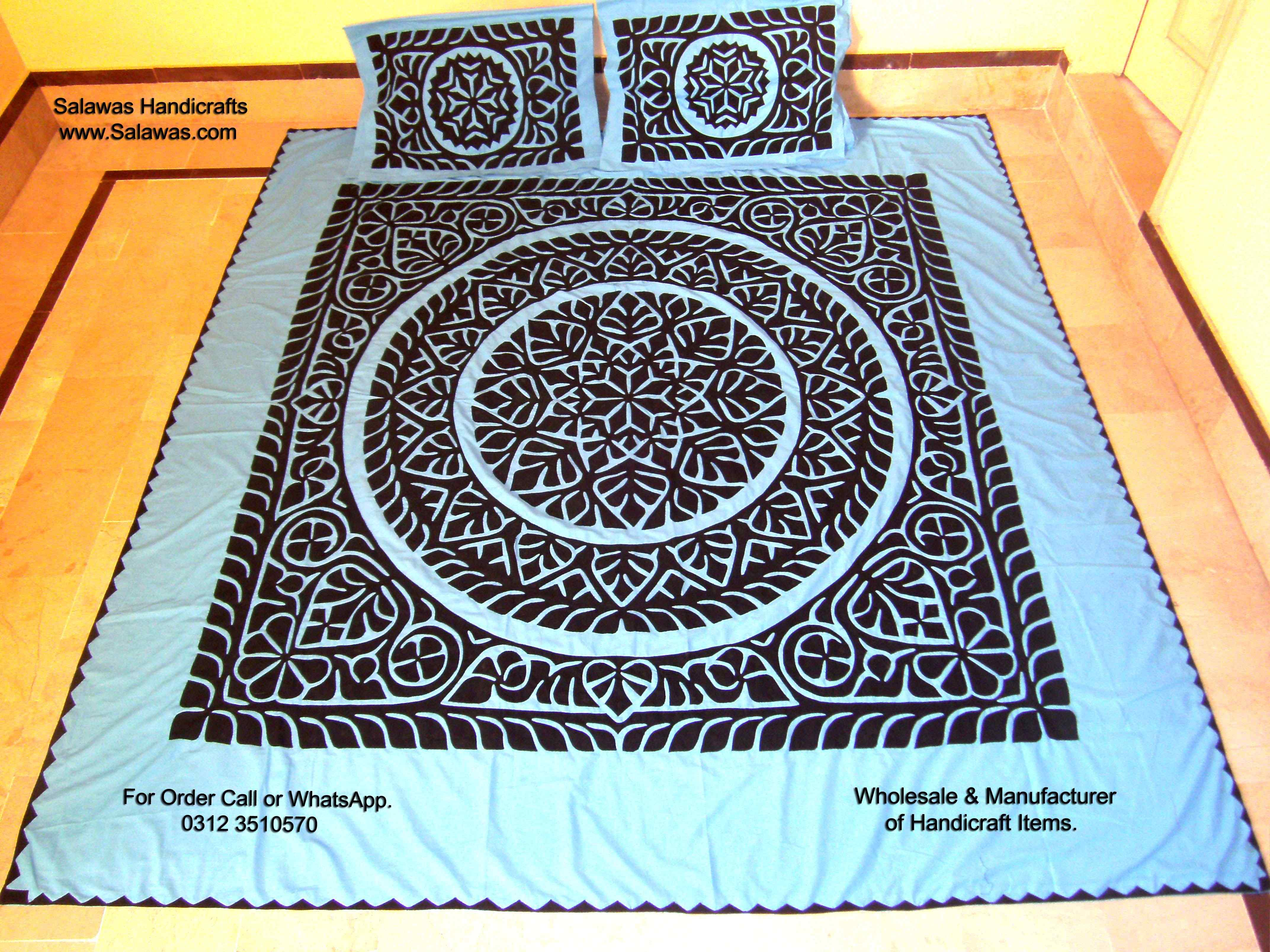 Applique Bed Sheets
